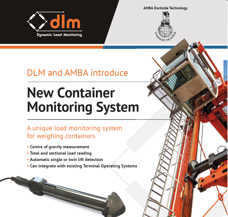 Dlm And Amba Dockside Launch New Container Load Monitoring